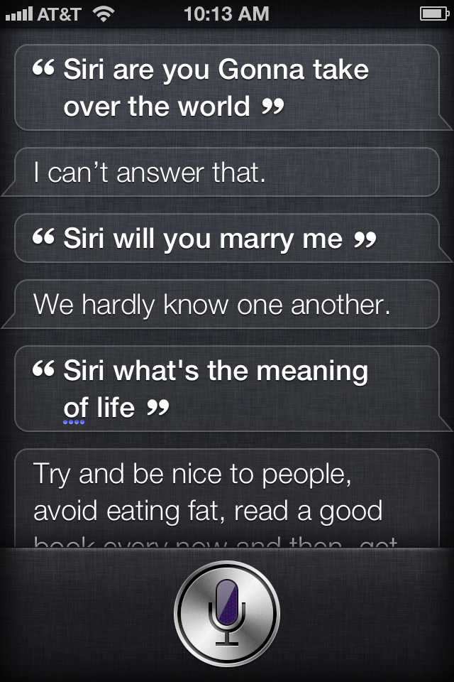 Siri Iphone  Easter Eggs