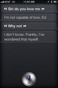 Siri Easter Egg Love