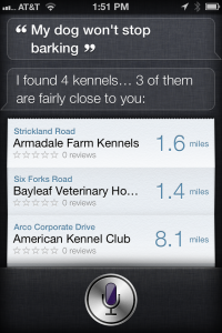 Siri Easter Egg Barking